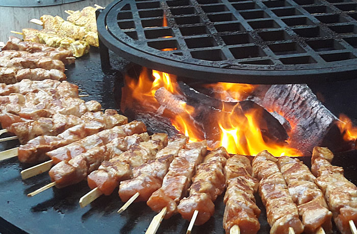 Barbecue aan huis - winterbbq - Outdoor catering